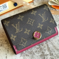 Louis vuitton スーパーコピー ルイヴィトン フロール FLORE コンパクト 財布 モノグラム M64588