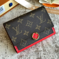 Louis vuitton スーパーコピー ルイヴィトン フロール FLORE コンパクト 財布 モノグラム M64587